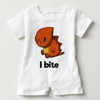 I bite (infant) baby romper