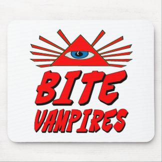 I Bite Vampires Mouse Pad
