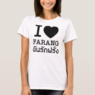 I Black Heart (Love) Farang T-Shirt