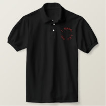 I Blame.. ..the CAT Embroidered Polo Shirt