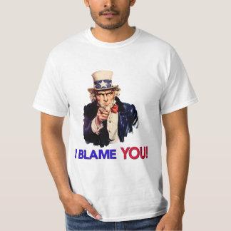 I Blame YOU - Retro Uncle Sam T Shirt