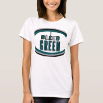 I Bleed Green at Midnight Arc T-Shirt