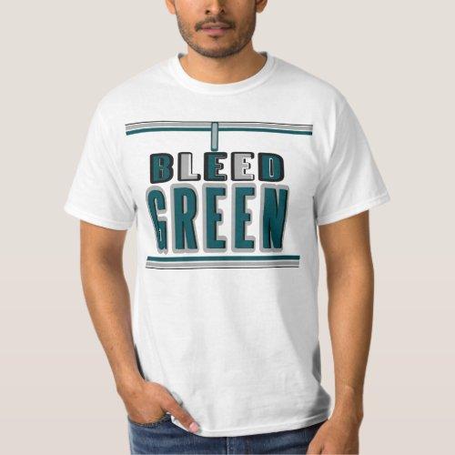 I Bleed Green at Midnight T-Shirt