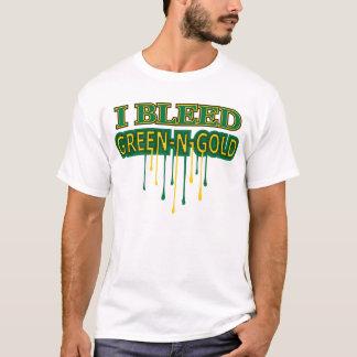 I Bleed Green N Gold T-Shirt
