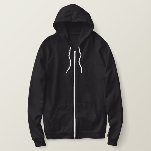 I BLEED MUSIC EMBROIDERED HOODIE