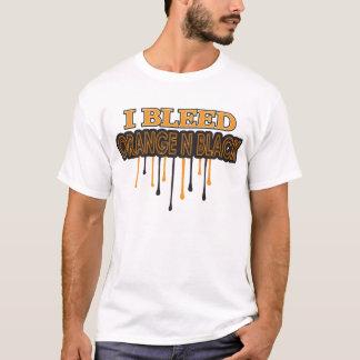 I Bleed Orange N Black T-Shirt