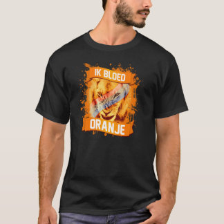 I Bleed Orange (Netherlands Soccer) T-Shirt