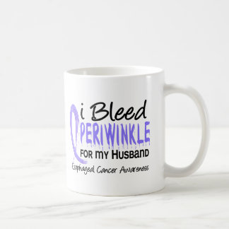 I Bleed Periwinkle For Husband Esophageal Cancer Coffee Mug