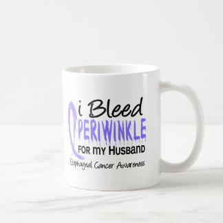 I Bleed Periwinkle For Husband Esophageal Cancer Coffee Mug