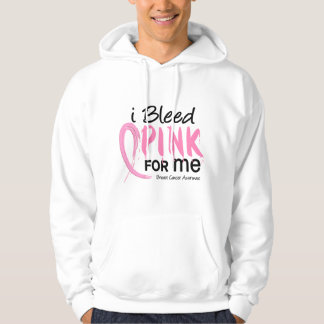 I Bleed Pink For ME Breast Cancer Hoodie