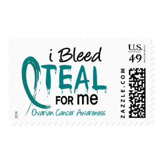 I Bleed Teal For ME Ovarian Cancer Postage