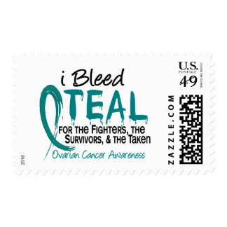 I Bleed Teal For The FST Ovarian Cancer Stamps