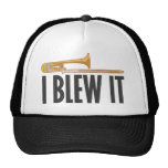 I Blew It Trombone Mesh Hat
