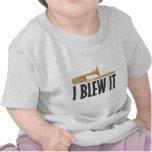 I Blew It Trombone Tshirt