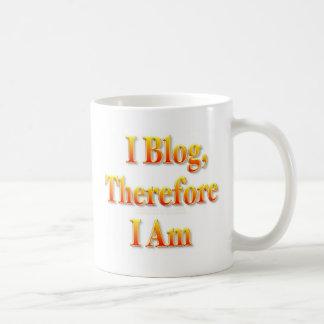 I Blog Coffee Mug