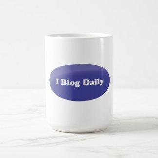 I blog diario tazas de café