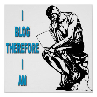 I blog por lo tanto soy poster