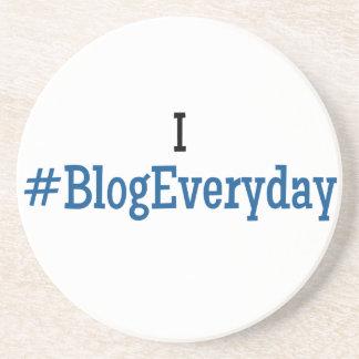 I #BlogEveryday Sandstone Coasters