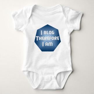 I Blogger Baby Bodysuit