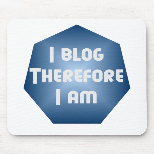 I Blogger Mouse Pad