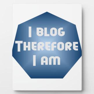 I Blogger Placas De Madera