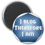 I Blogger Refrigerator Magnet