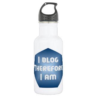 I Blogger Water Bottle