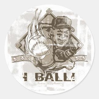 ¡I bola! Pegatina