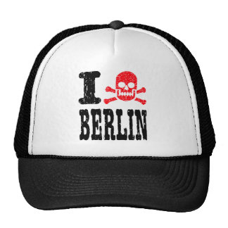 I BONEZ BERLIN TRUCKER HAT