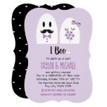 🎃  I Boo Halloween Wedding Invitations