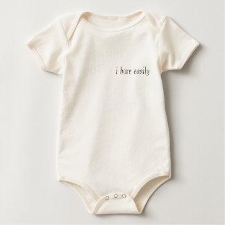 i bore easily baby bodysuit