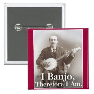 I botón del banjo pins