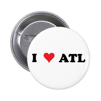 I botón del corazón ATL Pins