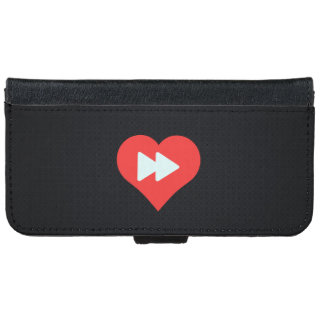 I botones delanteros rápidos del corazón carcasa de iPhone 6