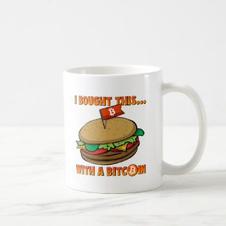 I Bought This Burger With a Bitcoin Mug