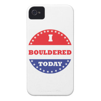 I Bouldered Today iPhone 4 Case