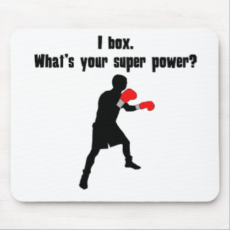 I Box. What's Your Super Power? Mousepads