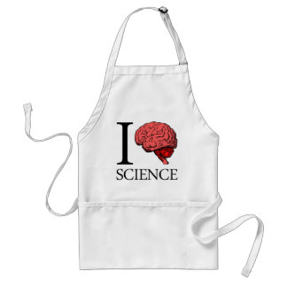 I Brain Science (I Know science) (I Love Science). Adult Apron
