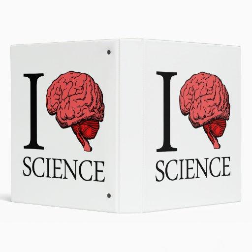 I Brain Science (I Know Science) (I Love Science) 3 Ring Binder