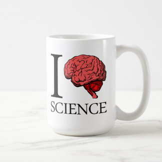 I Brain Science (I Know science) (I Love Science). Coffee Mug
