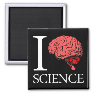 I Brain Science (I Know science) (I Love Science). Magnet