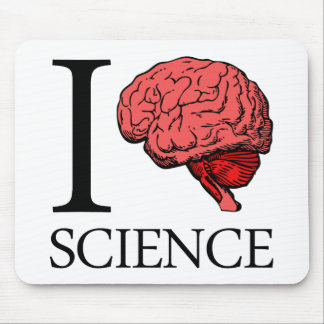I Brain Science (I Know Science) (I Love Science) Mouse Pad