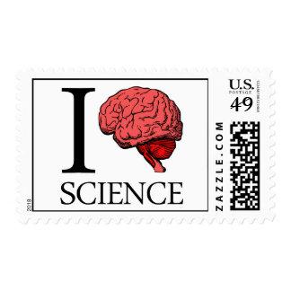 I Brain Science (I Know science) (I Love Science) Stamp