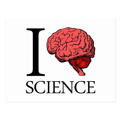 I Brain Science (I Know science) (I Love Science) Postcard