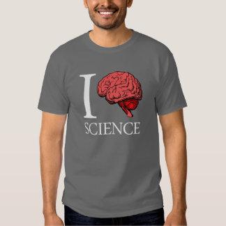 I Brain Science (I Know science) (I Love Science) T-Shirt
