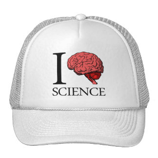 I Brain Science (I Know science) (I Love Science) Trucker Hat