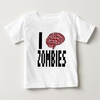 I Brain Zombies Baby T-Shirt