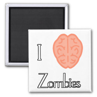I brain zombies magnet