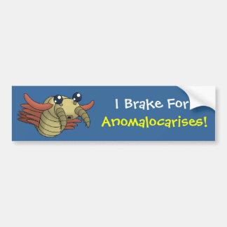 I Brake for Anomalocarises! Bumper Stickers