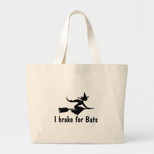 I Brake For Bats Bags